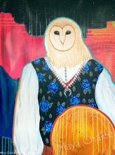 """Owl Shaman"" - 2018"