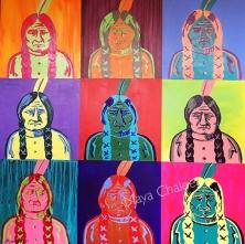 """Sitting Bull Pop"" - 2018"